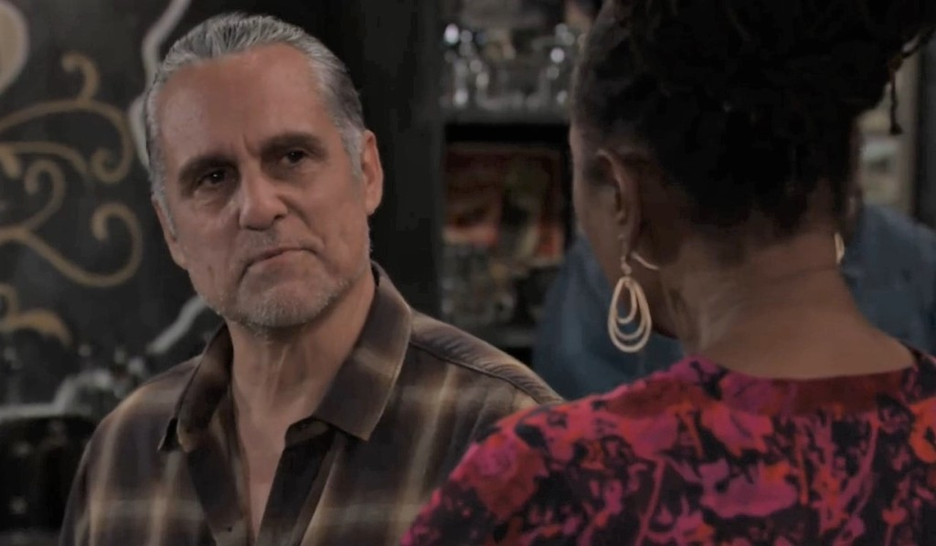 Sonny tells Phyllis about returning memories at Tan-o General Hospital