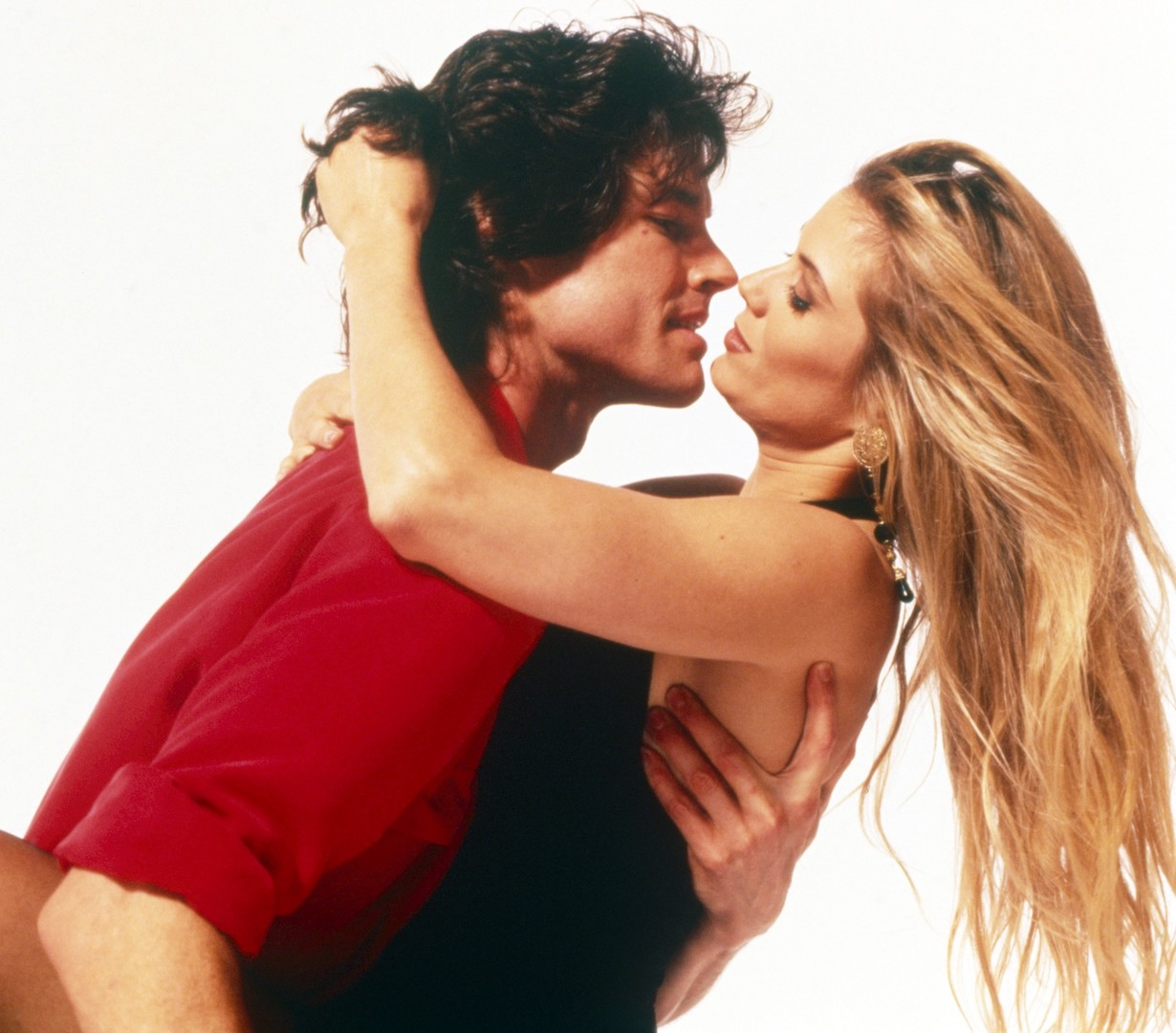 THE BOLD AND THE BEAUTIFUL, from left: Ronn Moss, Katherine Kelly Lang, 1990s, 1987– . ph: Jeff Katz / TV Guide /© CBS / Courtesy Everett Collection