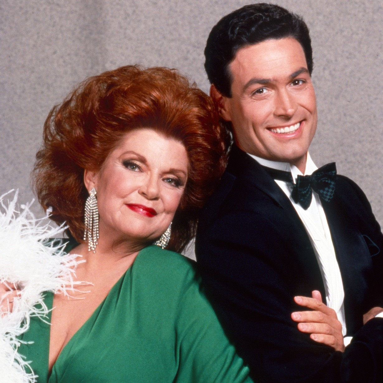 THE BOLD AND THE BEAUTIFUL, from left: Darlene Conley, Daniel McVicar, 1990s, 1987– . ph: Monty Brinton / © CBS / Courtesy Everett Collection