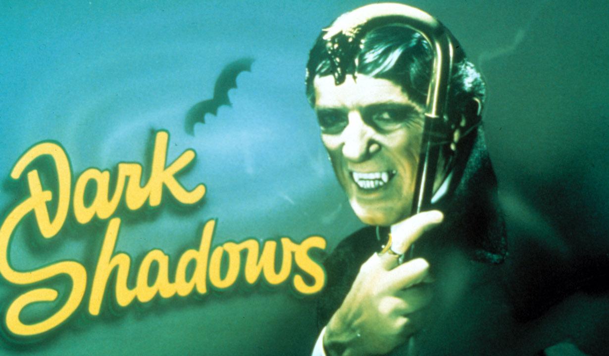 DARK SHADOWS, Jonathan Frid, 1966-71, title card