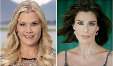 alison sweeney and kristian alfonso in Chronicle Mysteries: Helped to Death