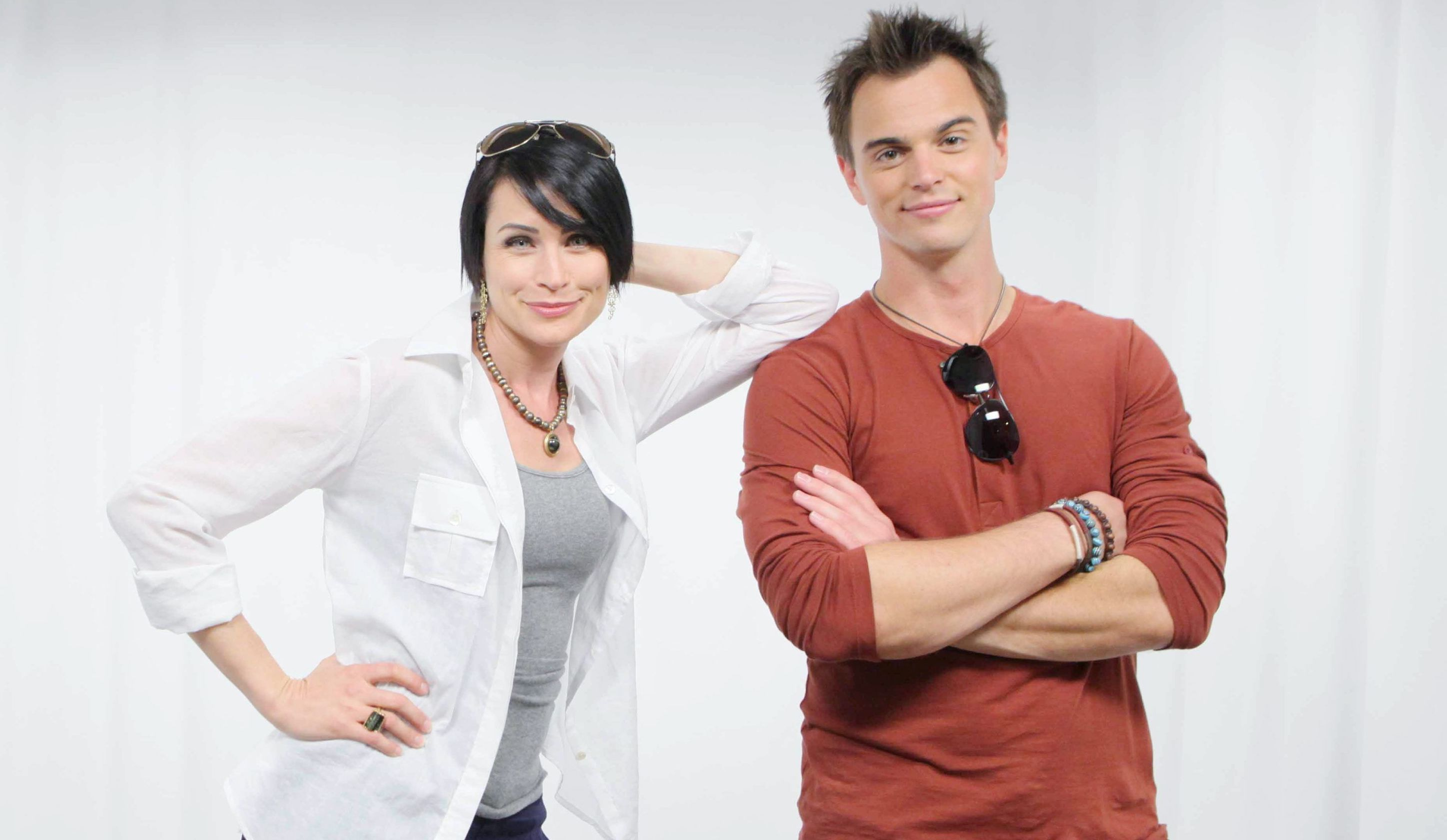 "Rena Sofer, Darin Brooks ""The Bold and the Beautiful"" quinn wyatt hw"