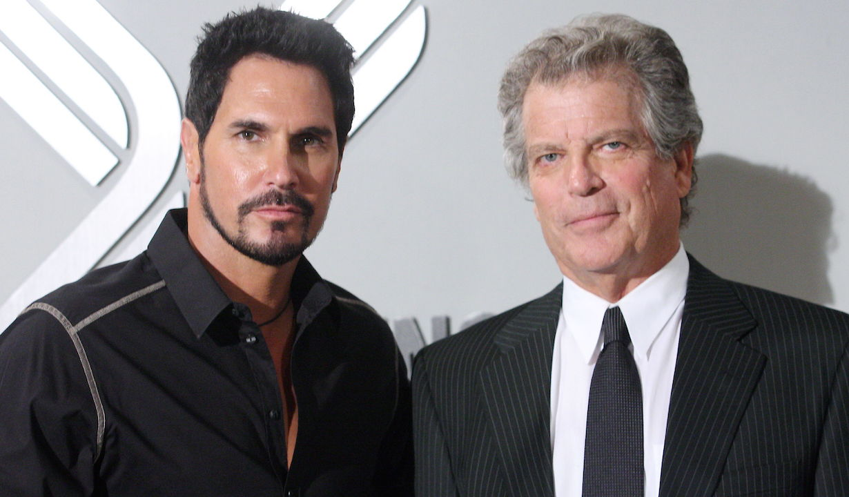 """Jim Storm, Don Diamont """"The Bold and the Beautiful"""" bill father ps"""