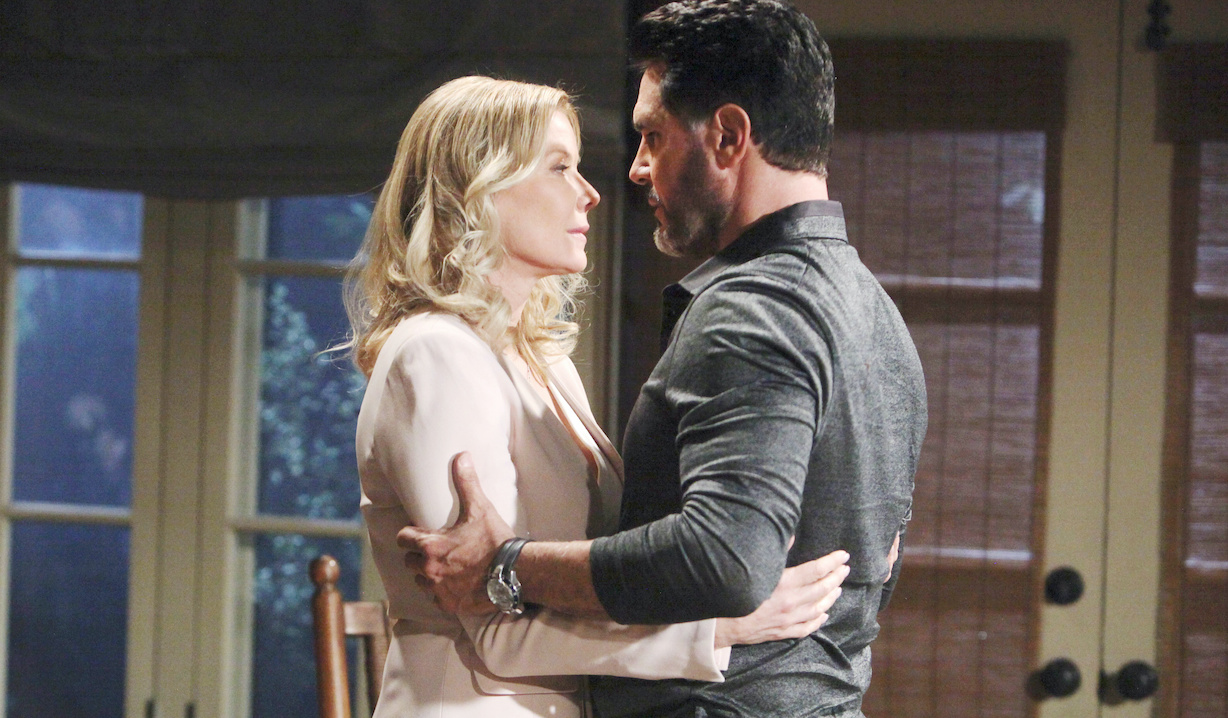 """Katherine Kelly Lang, Don Diamont """"The Bold and the Beautiful"""" Set CBS Television City Los Angeles, Ca. 01/24/20 © Howard Wise/jpistudios.com 310-657-9661 Episode # 8288 U.S.Airdate 03/06/20"""