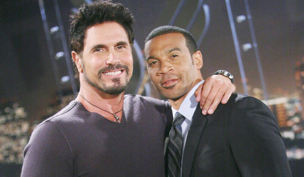 """Don Diamont, Aaron D Spears """"The Bold and the Beautiful"""" justin bill ss"""