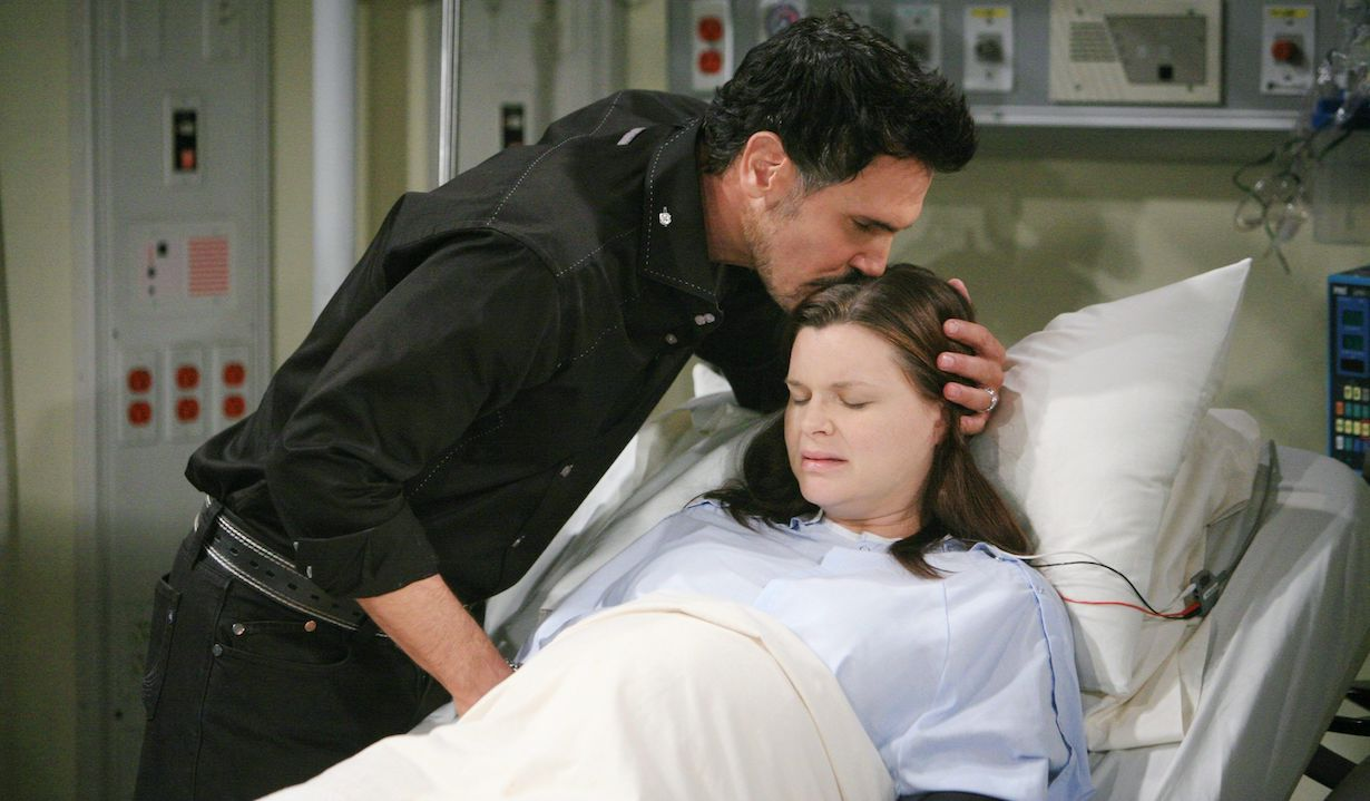 """Heather Tom, Don Diamont """"The Bold and the Beautiful"""" katie gives birth to will 2012 hw"""