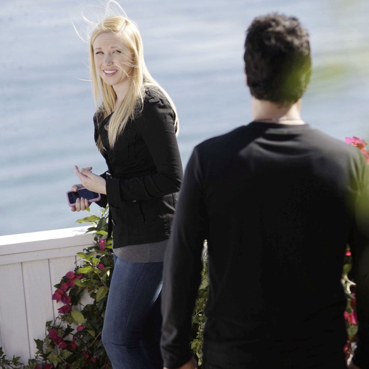 """Adrienne Frantz, Don Diamont """"The Bold and the Beautiful"""" bill pushes amber ss"""