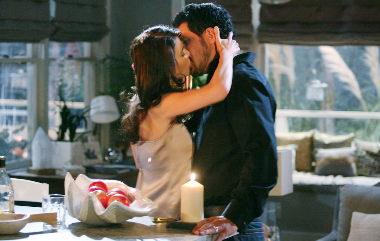 """Don Diamont, Jacqueline McInnes Wood """"The Bold and the Beautiful"""" bill steffy ss"""