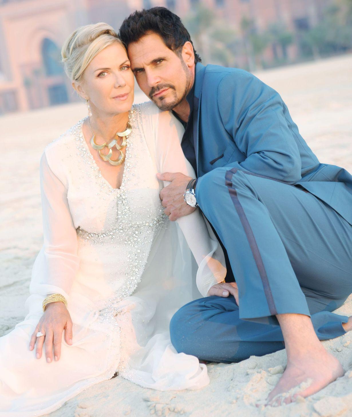 "Katherine Kelly Lang, Don Diamont ""The Bold and the Beautiful"" 2nd Day of Shooting on Location in Dubai United Arab Emirates, Dubai 03/18/14 © Sean Smith/jpistudios.com 310-657-9661"