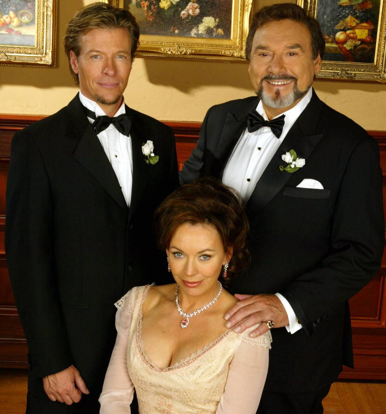 "Jack Wagner, Lesley Anne-Down and Joe Mascolo""The Bold and the Beautiful"" SetCBS Television City10/7/03©John Paschal/JPI310-657-9661"