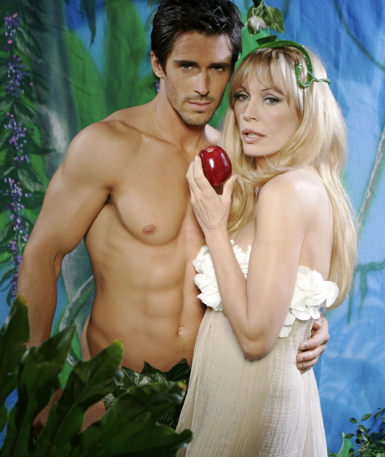 """The Bold and the Beautiful"" Lesley Anne Down, Brandon Beemer owen jackie"