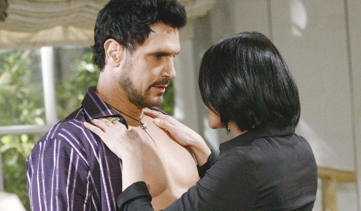 """Don Diamont, Rena Sofer """"The Bold and the Beautiful"""" quinn bill sex ss"""