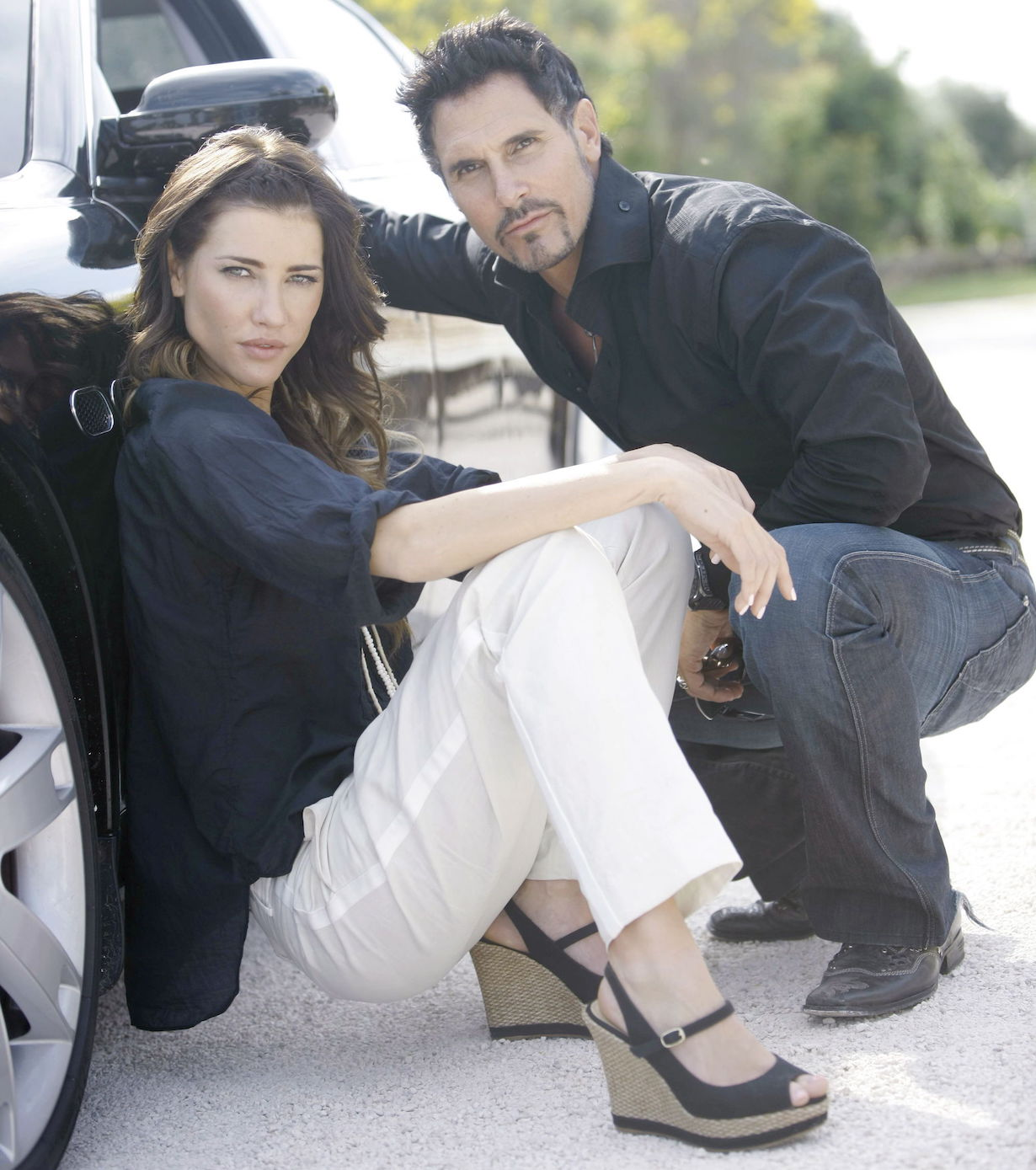 "Don Diamont, Jacqueline MacInnes Wood ""The Bold and the Beautiful"" steffy bill"