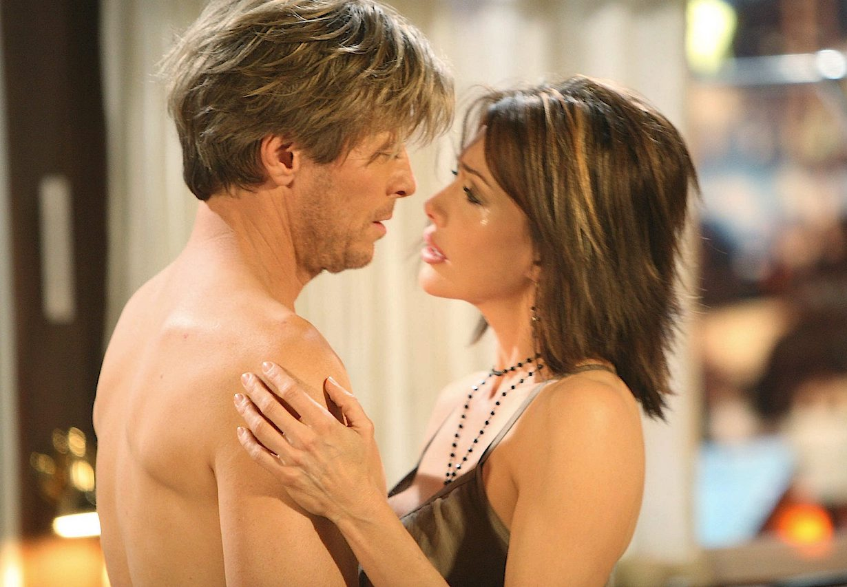"Hunter Tylo, Jack Wagner ""The Bold and the Beautiful"" nick taylor"