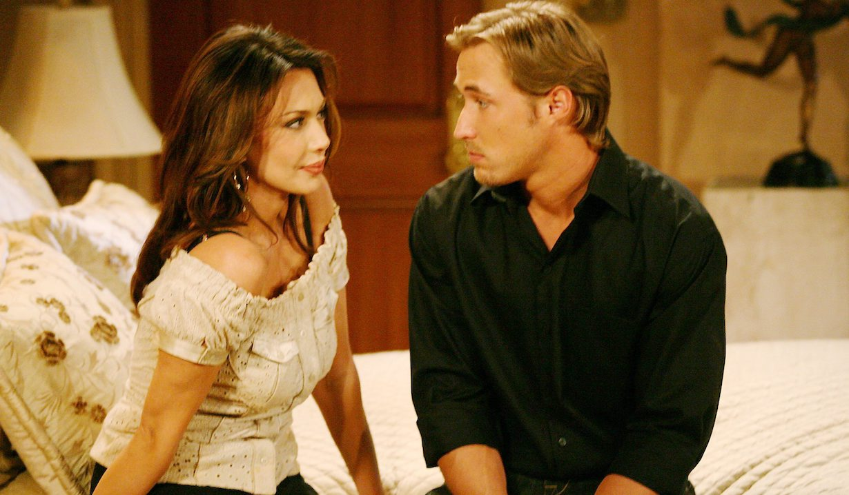 "Hunter Tylo, Kyle Lowder ""The Bold and the Beautiful"" rick taylor am"