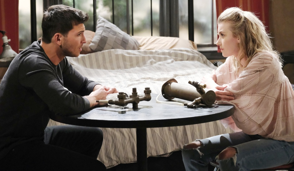 Ben and Claire talk about Ciara on Days of Our Lives