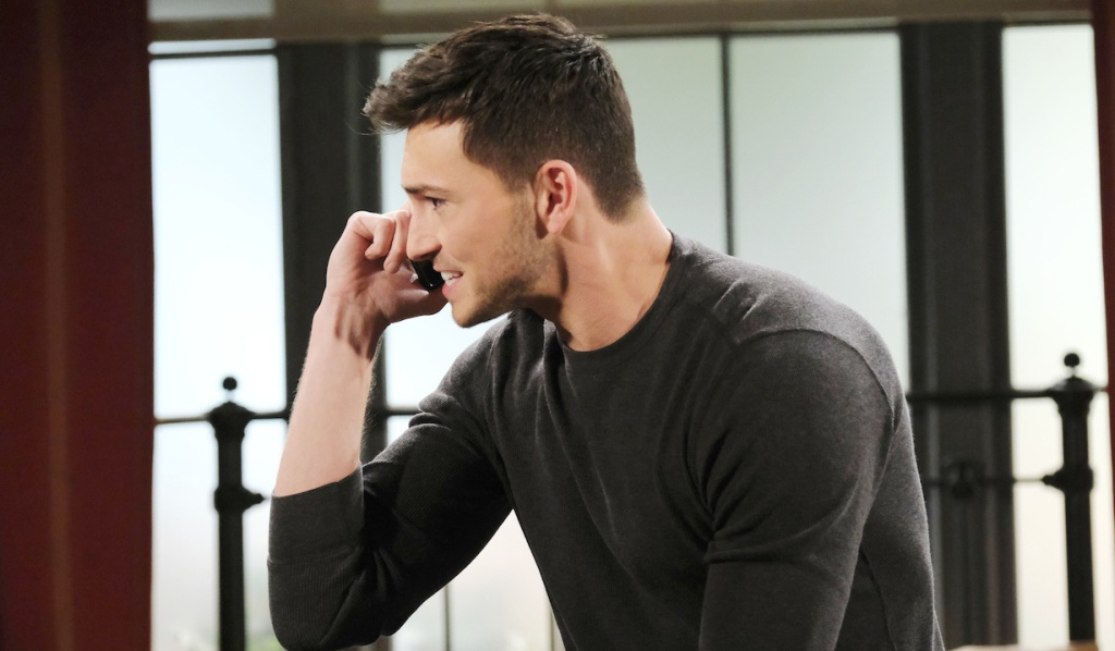 Ben desperate on the phone on Days of Our Lives