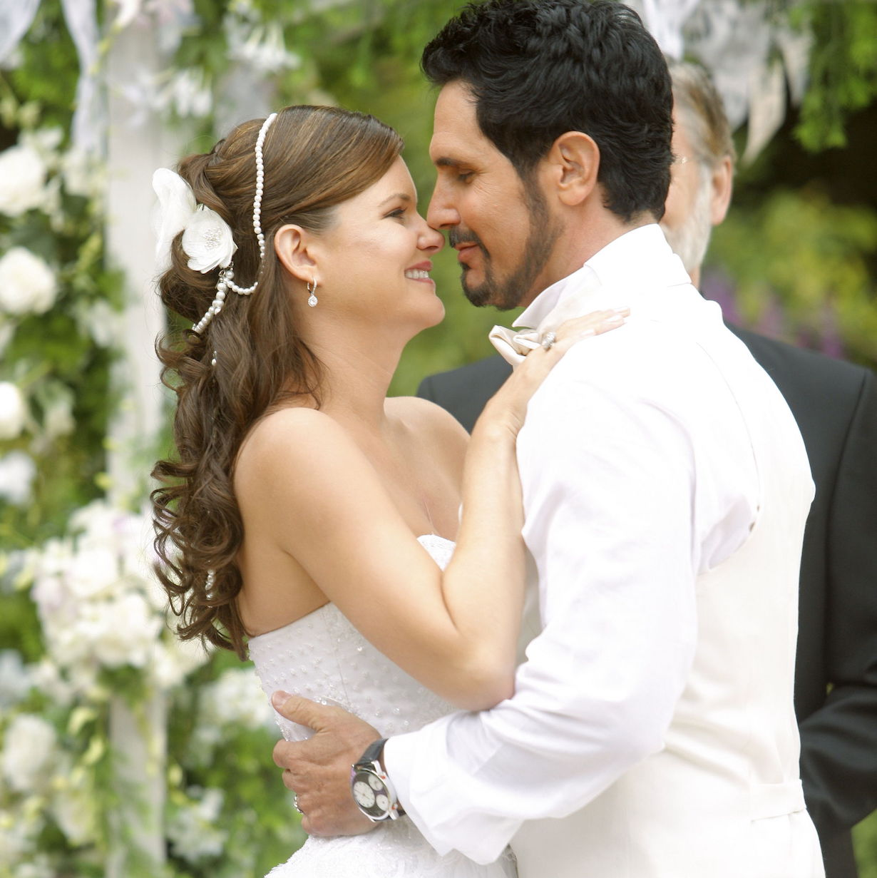 """Heather Tom, Don Diamont """"The Bold and the Beautiful"""" bill katie wedding 2009"""