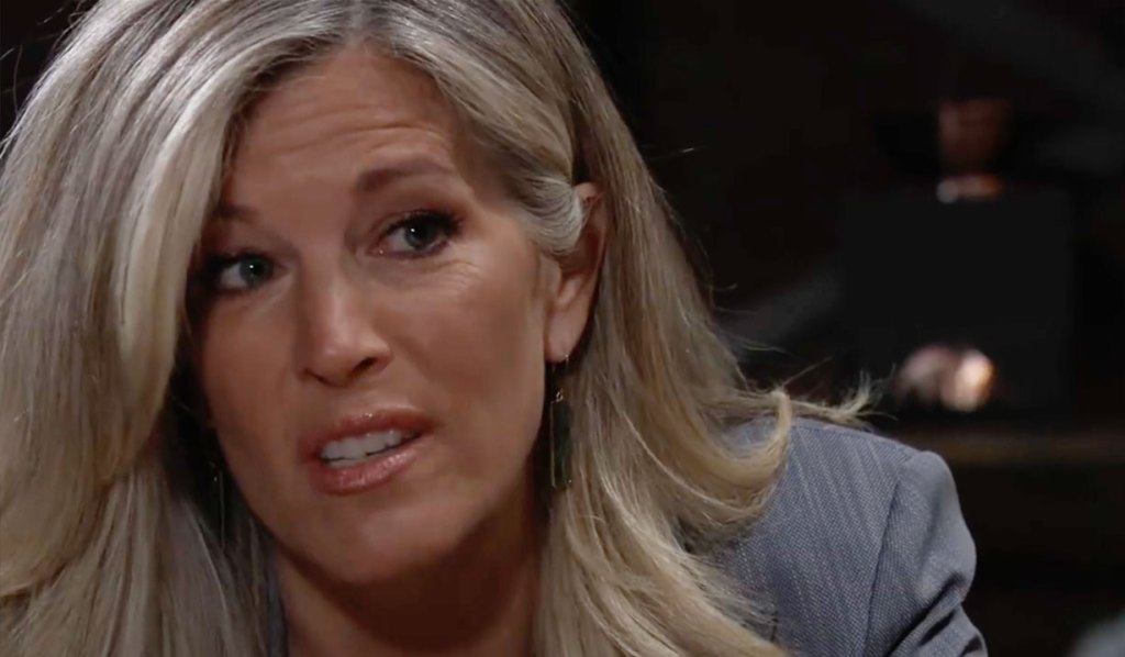 Carly is panicking about Nina on GH