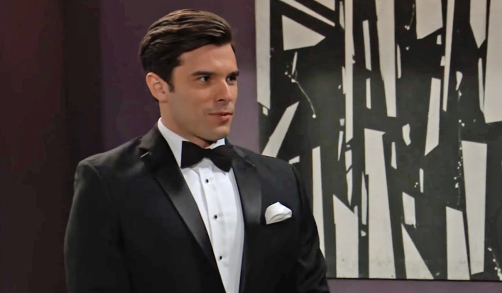 Chase in his wedding tux GH ABC