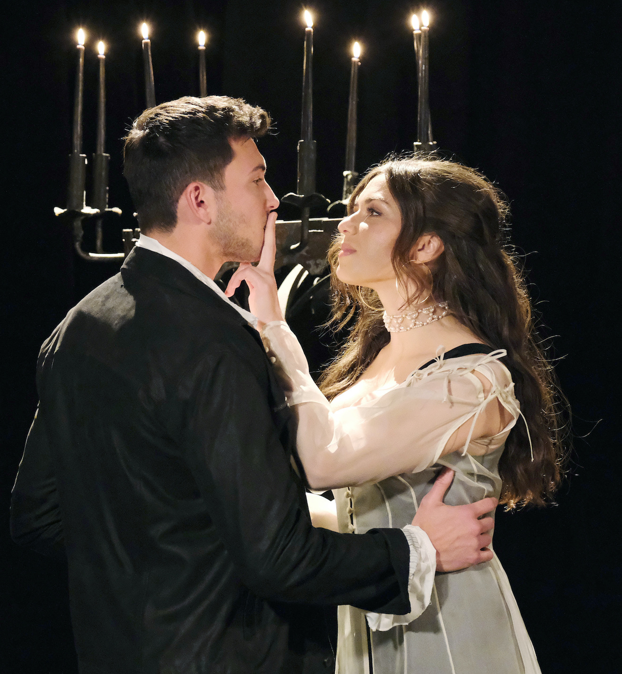 "Robert Scott Wilson, Victoria Konefal ""Days of our Lives"" Set NBC Studios Burbank 12/07/20 © XJJohnson/jpistudios.com 310-657-9661 Episode # 14039 U.S.Airdate 02/11/21"