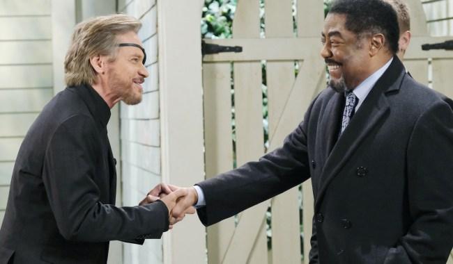 Days steve abe handshake JJ