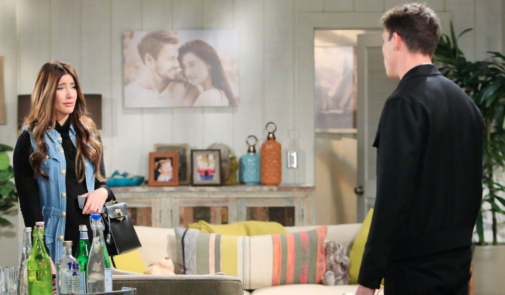 Finn, Steffy talk cliffhouse B&B