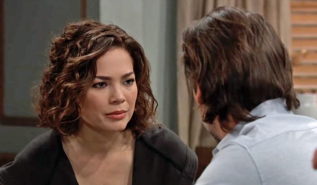 Liz worries about Franco GH ABC
