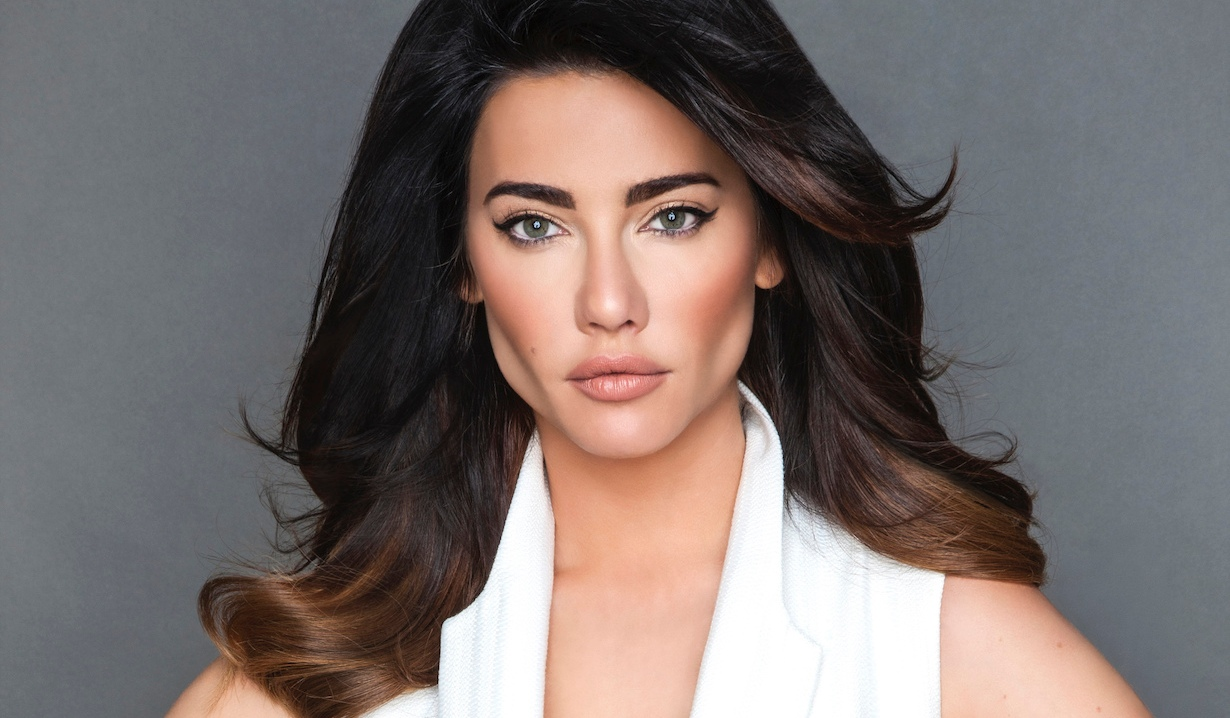 steffy Jacqueline MacInnes Wood as Steffy Forrester on the CBS series THE BOLD AND THE BEAUTIFUL, airing weekdays (1:30-2:00 PM, ET; 12:30-1:00 PM, PT) on the CBS Television Network. Photo: Gilles Toucas ©2017 CBS Broadcasting Inc. All Rights Reserved.