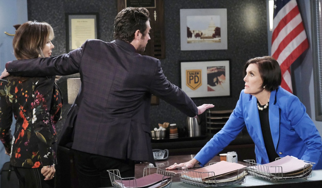 Jake defends Kate from Vivian on Days of Our Lives