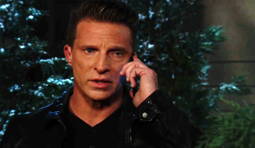 Jason on the phone on GH ABC