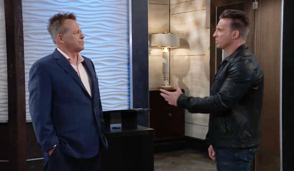 Jason cronfronts Scott on GH