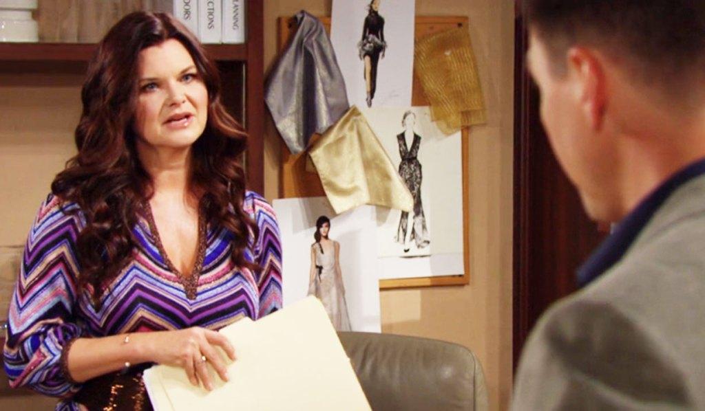 katie listens to wyatt's plea about flo BB