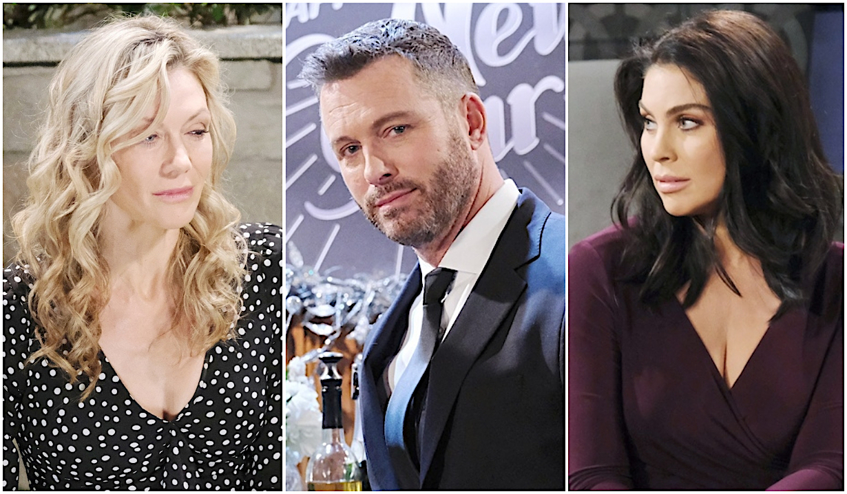 Kristen, Brady and Chloe on Days of Our Lives