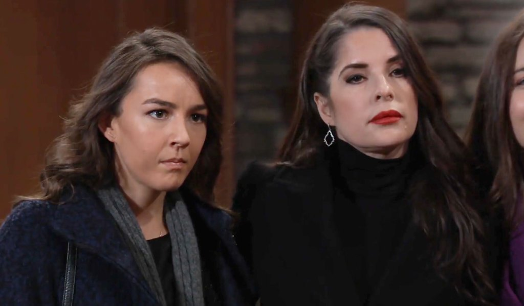 Sam Kristina and Molly hear Alexis out on GH