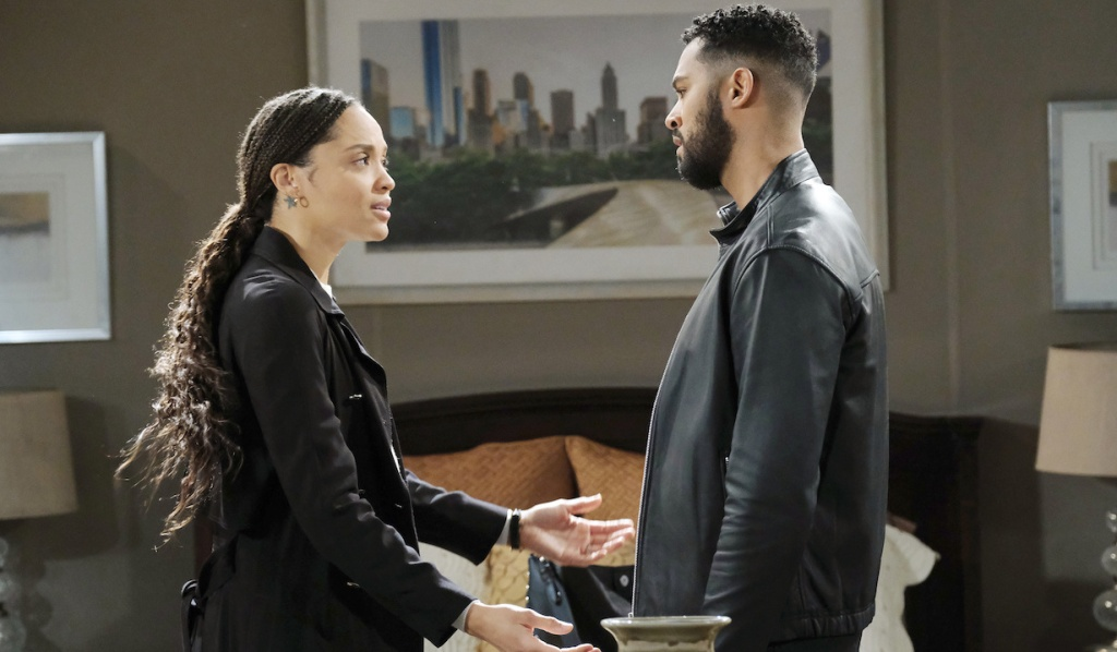 Eli and Lani suspect Vivian on Days of Our Lives