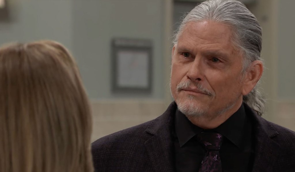 Laura confronts Cyrus about the funeral on GH ABC