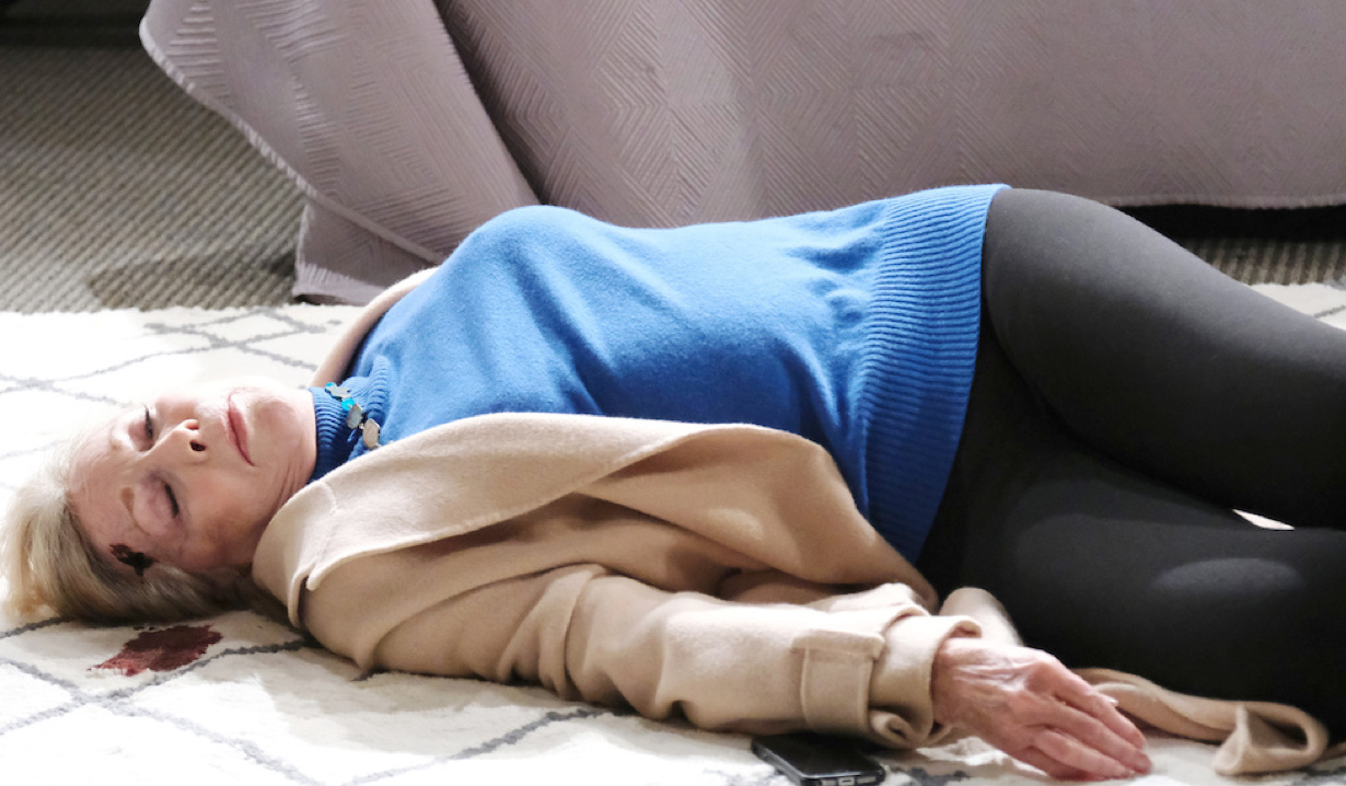 Laura lifeless on Days of Our Lives