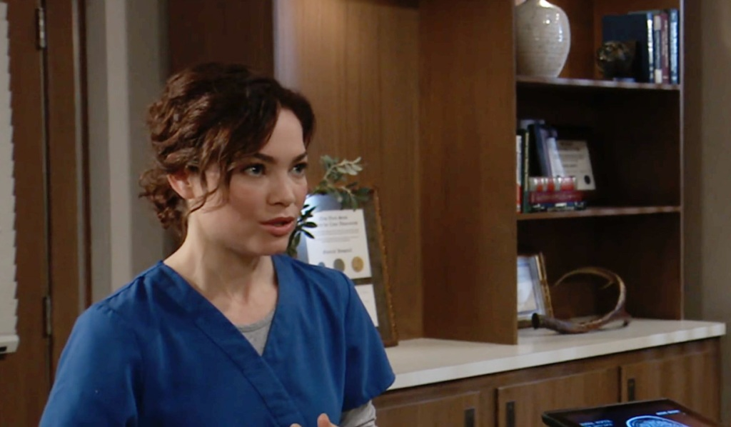 Liz worried about tumor GH ABC