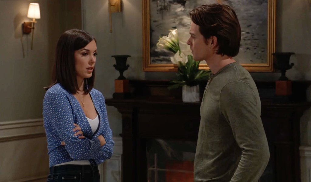 Willow and Michael discuss Wiley and Nina on GH ABC