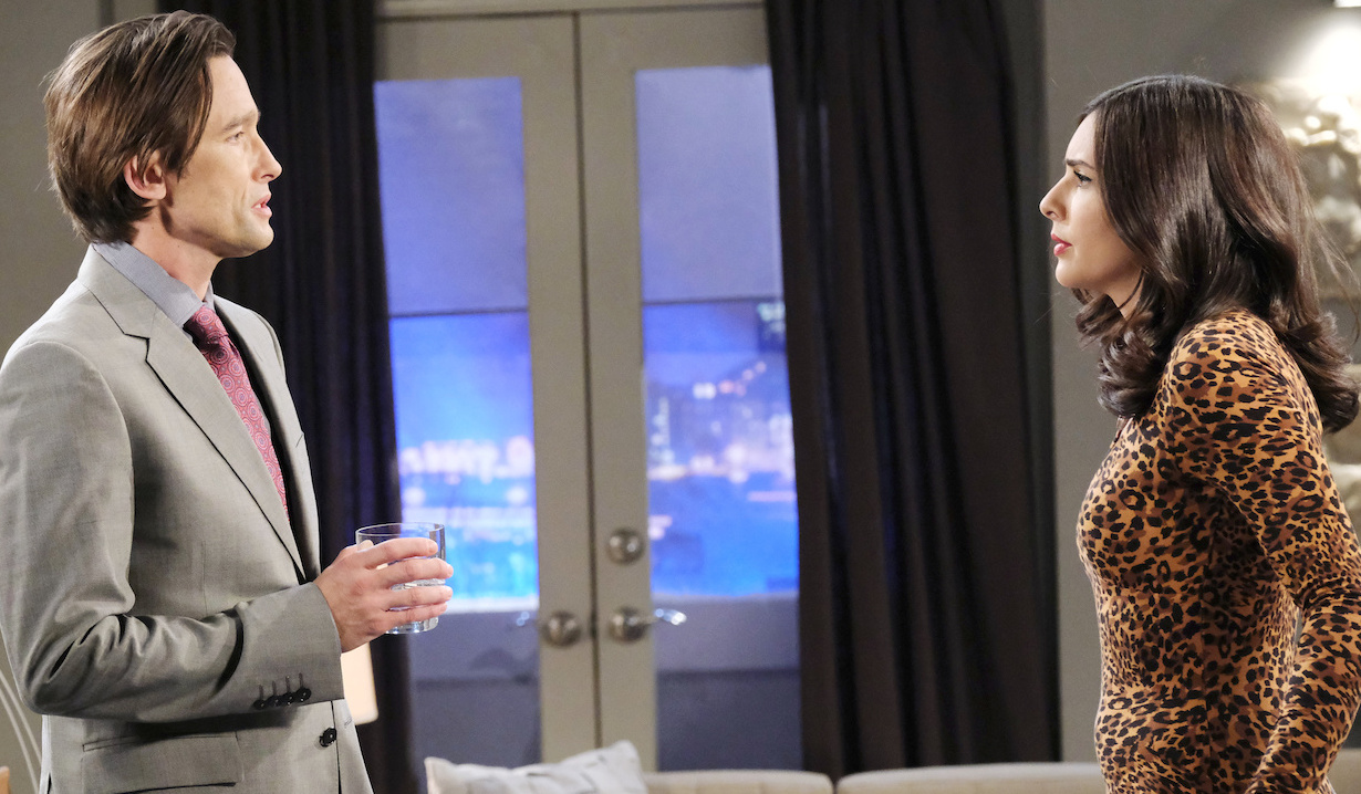 philip and gabi make a deal on Days of Our Lives