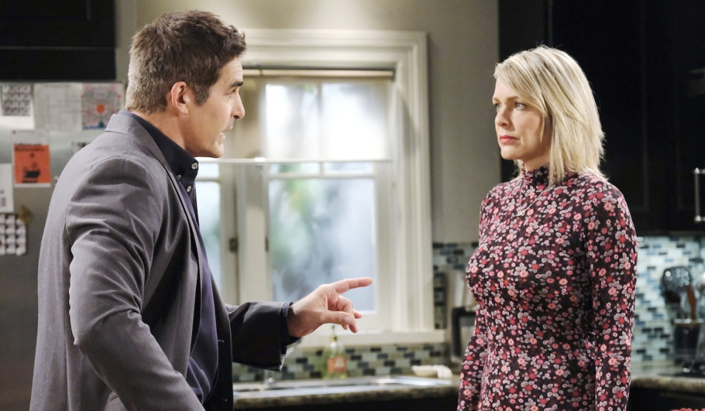 Rafe lectures Nicole on Days of Our Lives