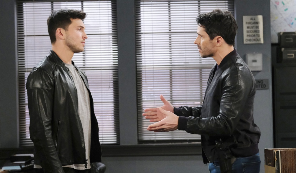 Shawn explains to Ben on Days of Our Lives