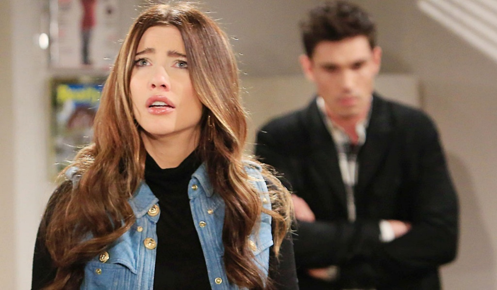 Steffy worries Finn B&B