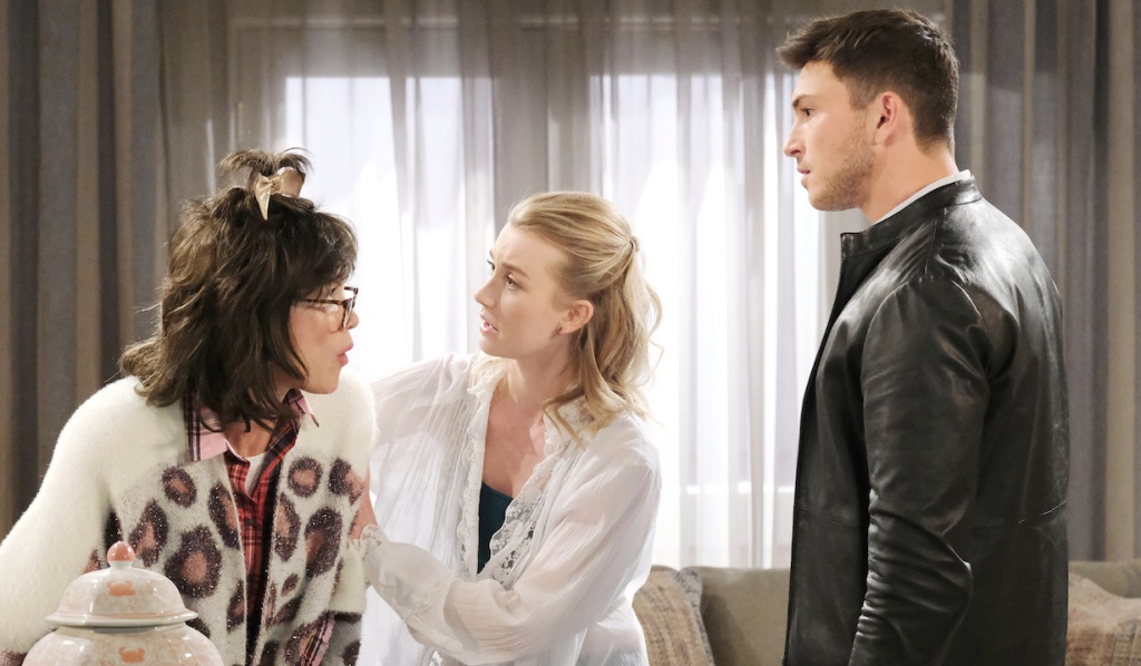 Susan believes Ben's premonitions on Days of Our Lives