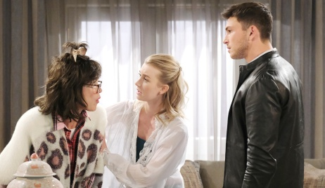 Susan has visions of Ciara on Days of Our Lives
