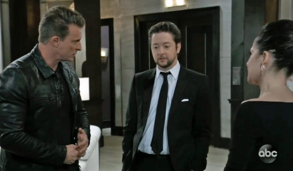 Spinelli is unhappy GH ABC