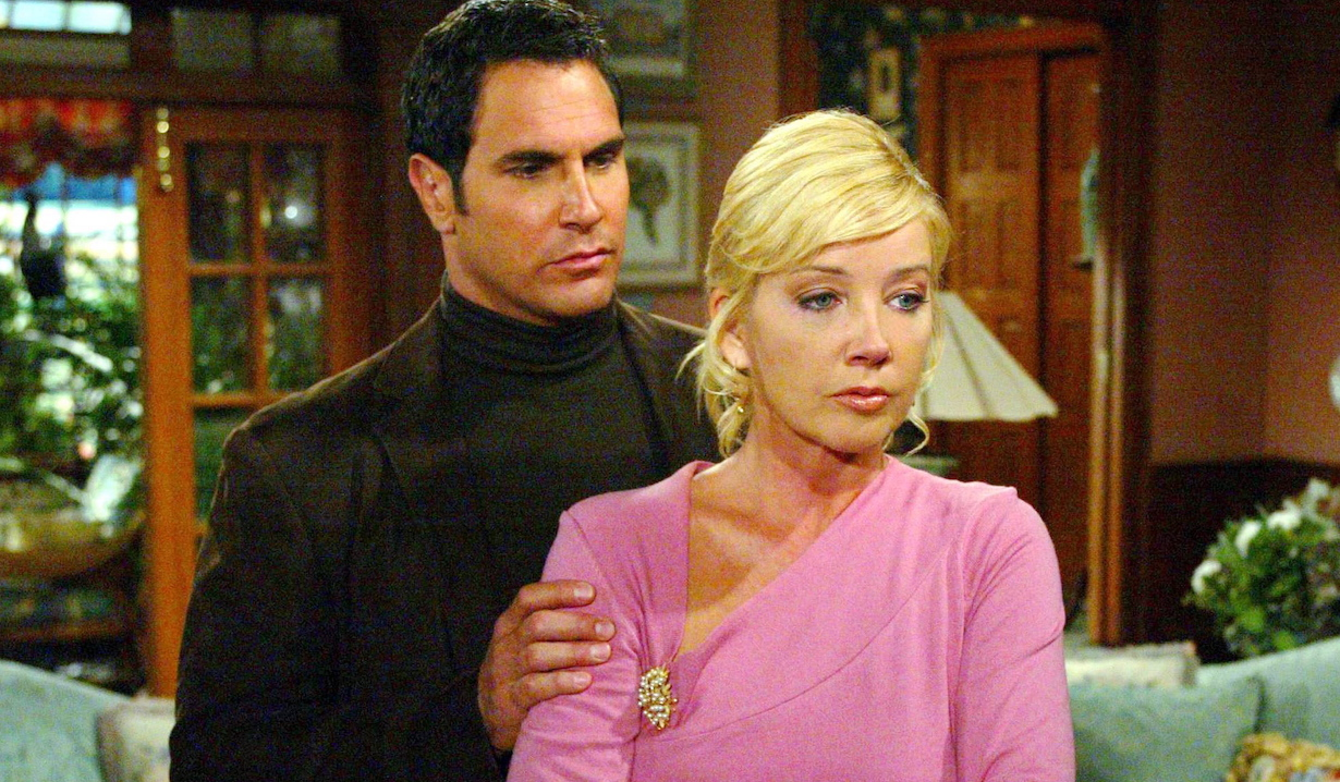 "Melody Thomas Scott and Don Diamont ""The Young and the Restless"" brad nikki am"
