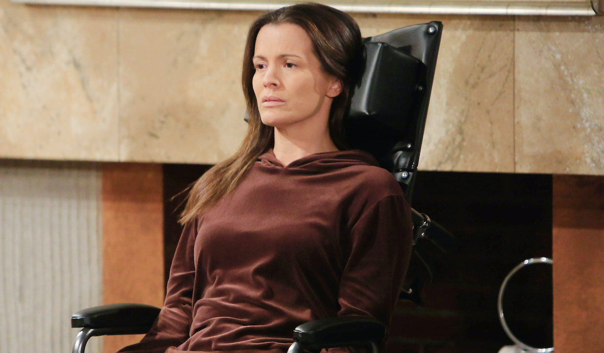 """chelsea stroke Melissa Claire Egan""""The Young and the Restless"""" Set CBS television CityLos Angeles12/23/20© Howard Wise/jpistudios.com310-657-9661Episode # 12035U.S. Airdate 01/21/21"""