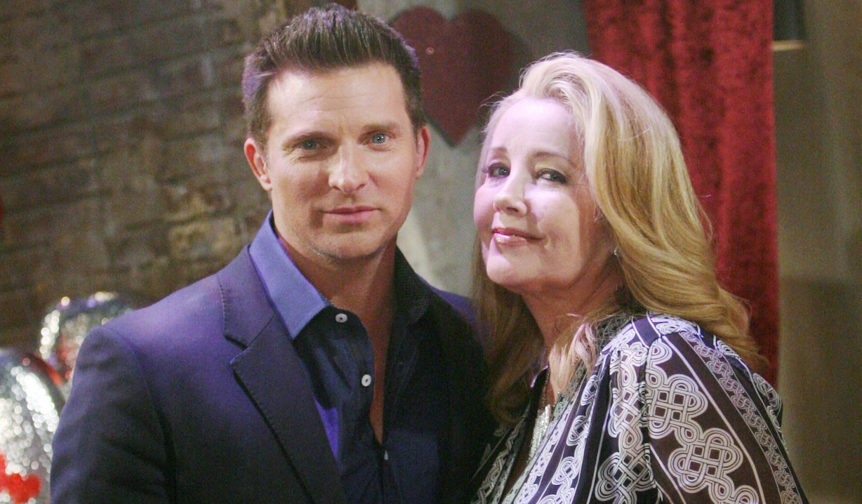 "Steve Burton, Melody Thomas Scott ""The Young and the Restless"" dylan nikki"